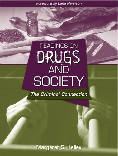 9780205439720: Readings on Drugs and Society: The Criminal Connection