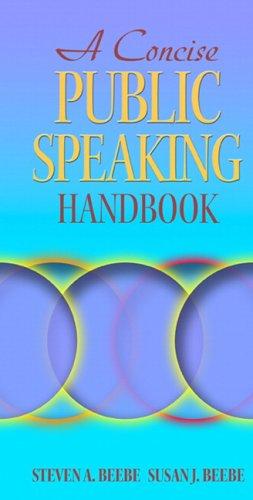 9780205440207: A Concise Public Speaking Handbook (MySpeechKit Series)