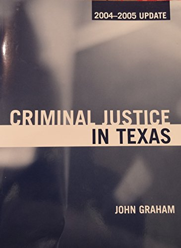 9780205440467: Criminal Justice in Texas