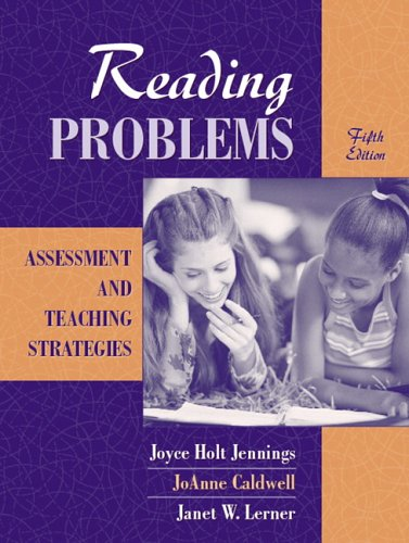 9780205441211: Reading Problems: Assessment and Teaching Strategies