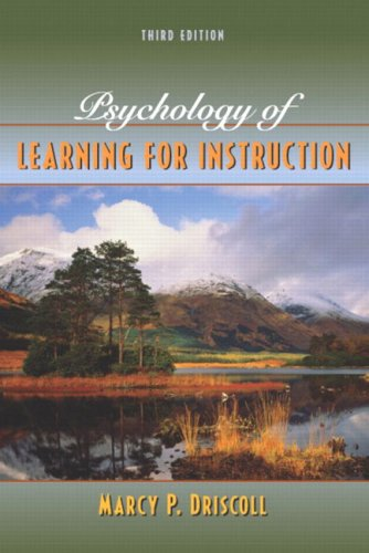 9780205441815: Psychology of Learning for Instruction: International Edition