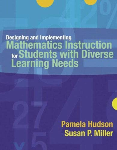 9780205442065: Designing and Implementing Mathematics Instruction for Students with Diverse Learning Needs