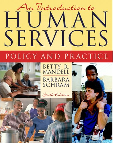 9780205442140: An Introduction to Human Services: Policy and Practice