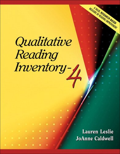 9780205443277: Qualitative Reading Inventory-4 (4th Edition)