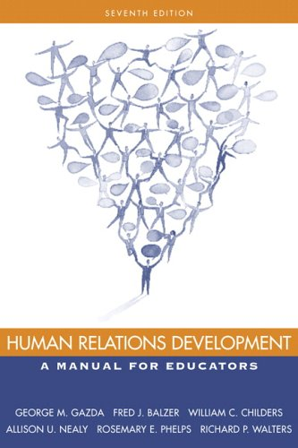 9780205445684: Human Relations Development: A Manual for Educators (7th Edition)