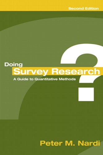 9780205446094: Doing Survey Research (2nd Edition)