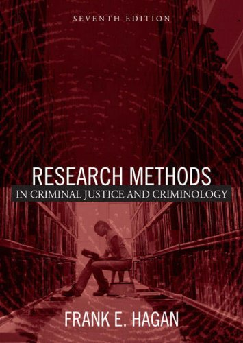 9780205447398: Research Methods in Criminal Justice and Criminology