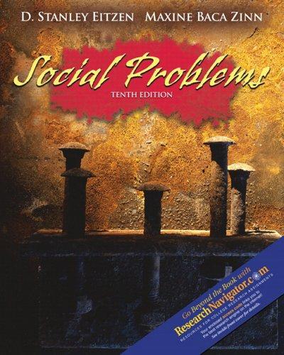 9780205449699: Social Problems (10th Edition) (MySocKit Series)