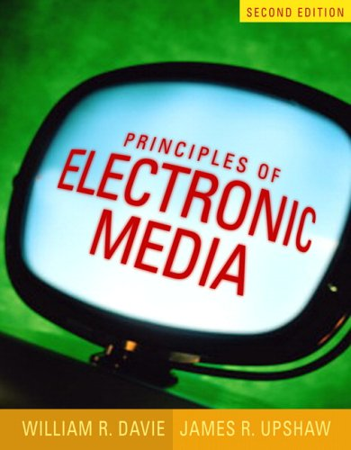 9780205449750: Principles of Electronic Media (2nd Edition)
