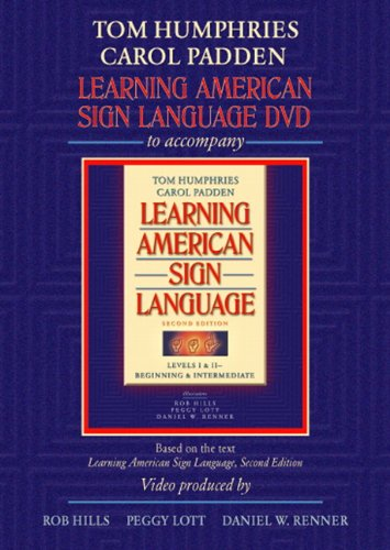 9780205453429: Learning American Sign Language DVD to accompany Learning American Sign Language - Levels 1 & 2 Beginning and Intermediate, 2nd Edition
