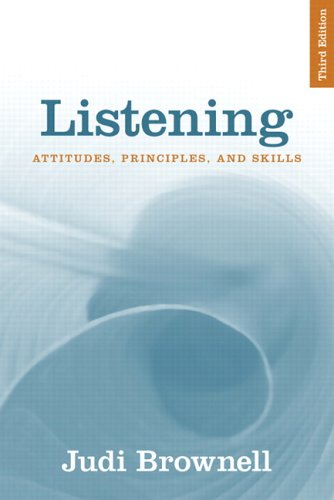 9780205453566: Listening: Attitudes, Principles, and Skills (3rd Edition)