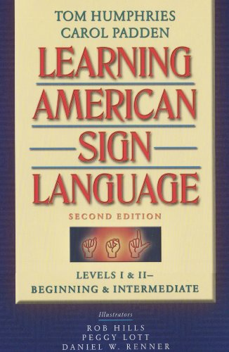 9780205453917: Learning American Sign Language: Levels I & II--Beginning & Intermediate, with DVD (Text & DVD Package)