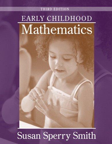 9780205454761: Early Childhood Mathematics (3rd Edition)