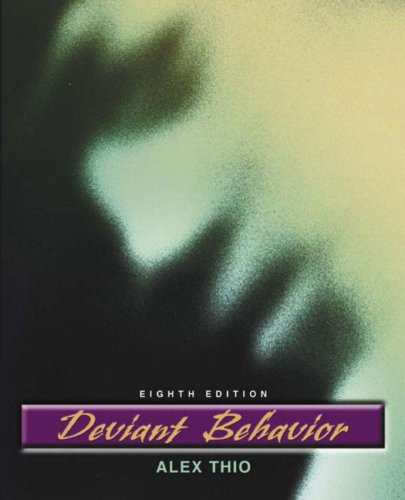 9780205454785: Deviant Behavior (8th Edition)