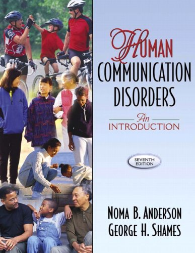 9780205456222: Human Communication Disorders: An Introduction