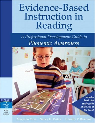 9780205456284: Evidence-Based Instruction in Reading: A Professional Development Guide to Phonemic Awareness