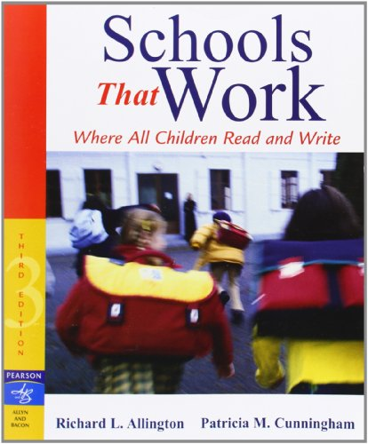 9780205456352: Schools That Work: Where All Children Read and Write (3rd Edition)