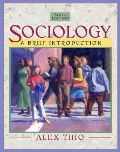 9780205457014: Sociology: A Brief Introduction (with Study Card) (6th Edition) (Mysockit)