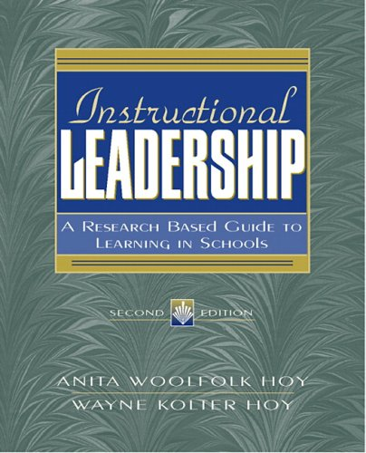 9780205457212: Instructional Leadership: A Research-Based Guide to Learning in Schools (2nd Edition)