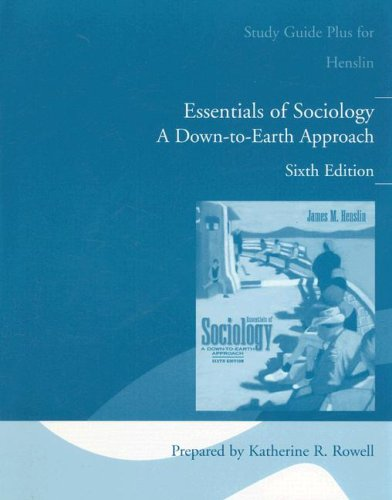 Essentials of Sociology: Down to Earth Approach: Bacon R. Allyn
