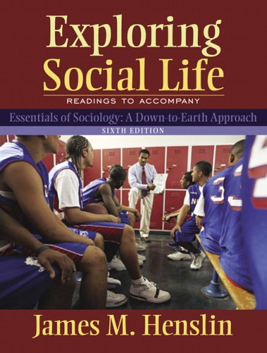 9780205459414: Exploring Social Life: Readings to Accompany Essentials of Sociology (6th Edition)