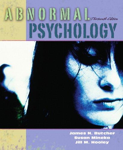 9780205459421: Abnormal Psychology (13th Edition)
