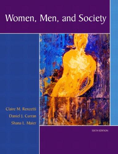WOMEN,MEN+SOCIETY: RENZETTI