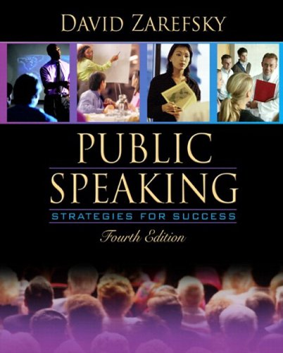 9780205460694: Public Speaking: Strategies for Success (with Study Card) (4th Edition)