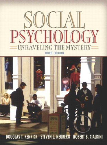 9780205460717: Social Psychology: Unraveling the Mystery (with Study Card) (3rd Edition) (MyPsychLab Series)
