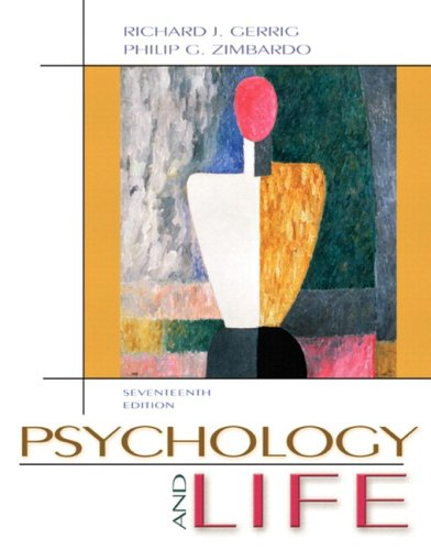 9780205460748: Psychology and Life (with Study Card) (17th Edition) (MyPsychLab Series)
