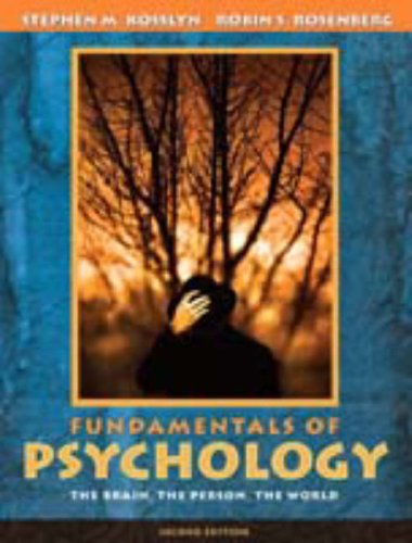 9780205460762: Fundamentals of Psychology: The Brain, The Person, The World (with Study Card) (2nd Edition) (MyPsychLab Series)