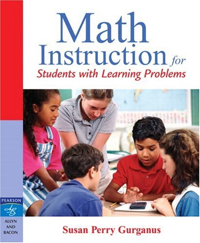 9780205460892: Math Instruction for Students with Learning Problems