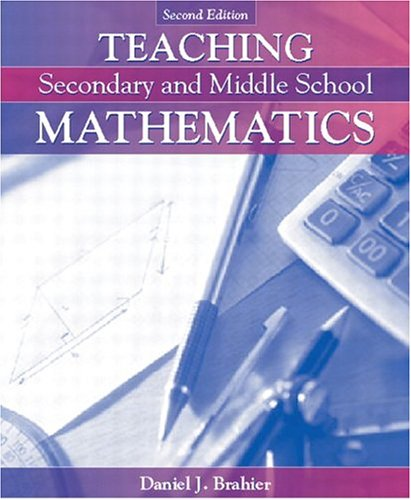9780205462612: Teaching Secondary and Middle School Mathematics, MyLabSchool Edition (2nd Edition)