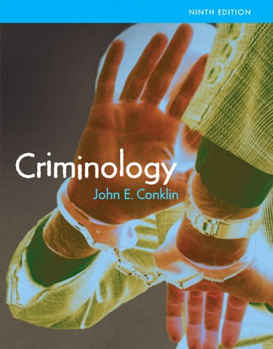 9780205464401: Criminology (MyCrimeKit Series)