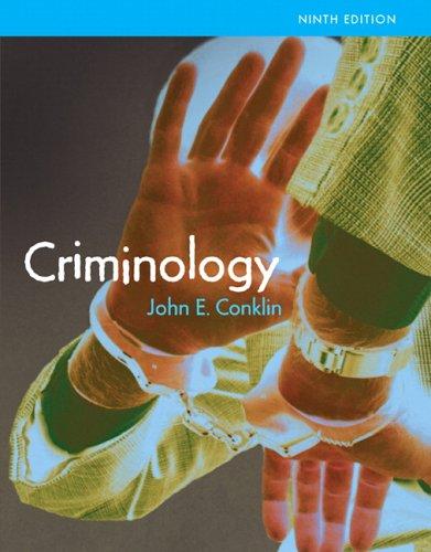 9780205464401: Criminology (MyCrimeKit Series)