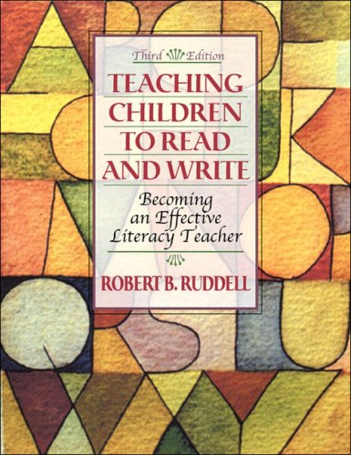9780205464814: Teaching Children to Read and Write: Becoming an Effective Literacy Teacher, MyLabSchool Edition (3rd Edition)