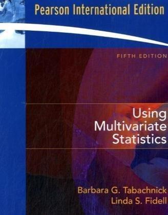 9780205465255: Using Multivariate Statistics: International Edition