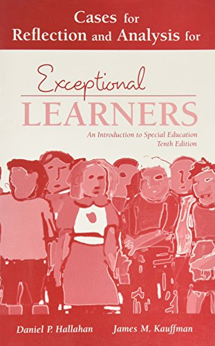 9780205466191: Cases for Reflection and Analysis for Exceptional Learners: Introduction to Special Education: Component Item Only