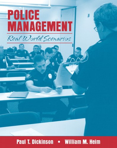 9780205466252: Police Management: Real World Scenarios