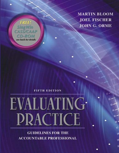 9780205466986: Evaluating Practice: Guidelines for the Accountable Professional