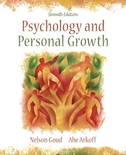 9780205468836: Psychology and Personal Growth (7th Edition)