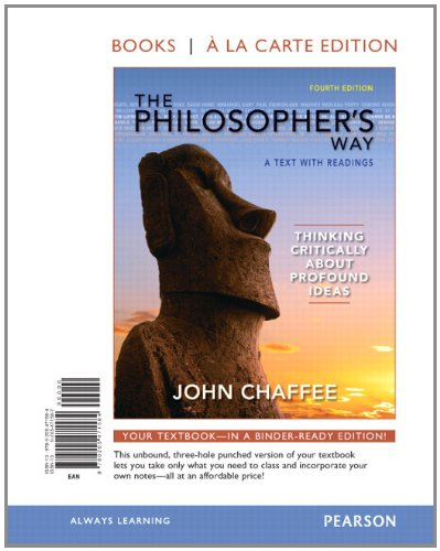 The Philosopher's Way: Thinking Critically About Profound