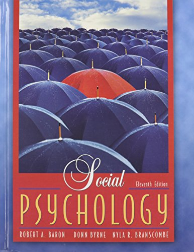 9780205472512: Social Psychology- Text Only