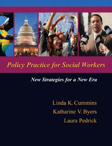 9780205473762: Policy Practice for Social Workers: New Strategies for a New Era