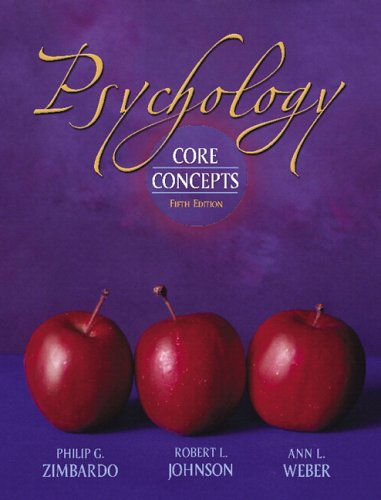 9780205474455: Psychology: Core Concepts (5th Edition)