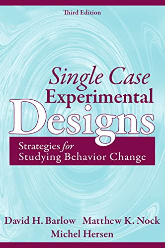 9780205474554: Single Case Experimental Designs: Strategies for Studying Behavior Change (3rd Edition)