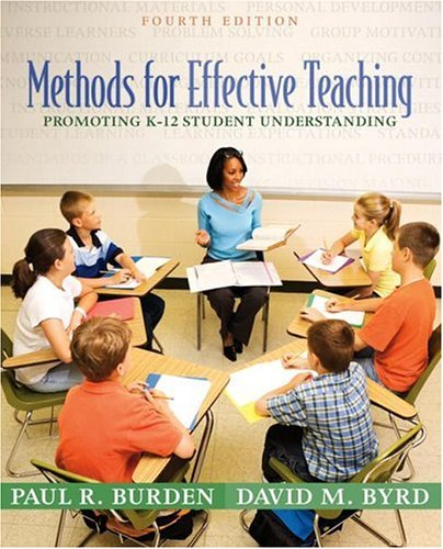 9780205476381: Methods for Effective Teaching: Promoting K-12 Student Understanding (4th Edition)