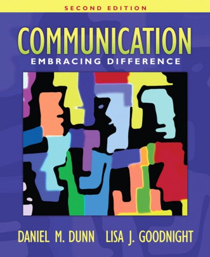 9780205478910: Communication: Embracing Difference (2nd Edition)