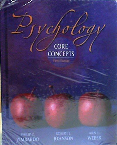 9780205479542: Psychology: Core Concpts & Mypsych lab Pkg