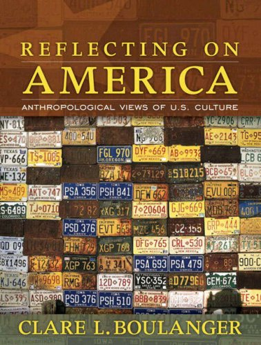 9780205481439: Reflecting on America: Anthropological Views of U.S. Culture